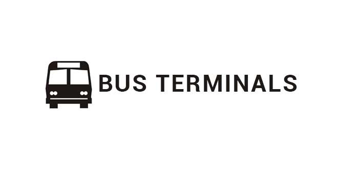 Chong Cafe Shipping Methods Bus Terminals Icon