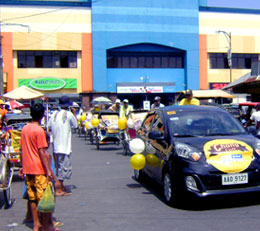 Chong Cafe Sampling Event and Motorcade in Bicol