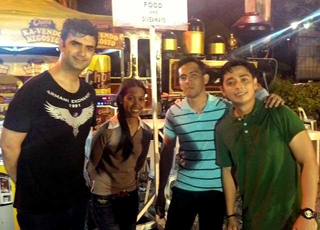 Chong Cafe Vendo Team and Love Radio DJs Image