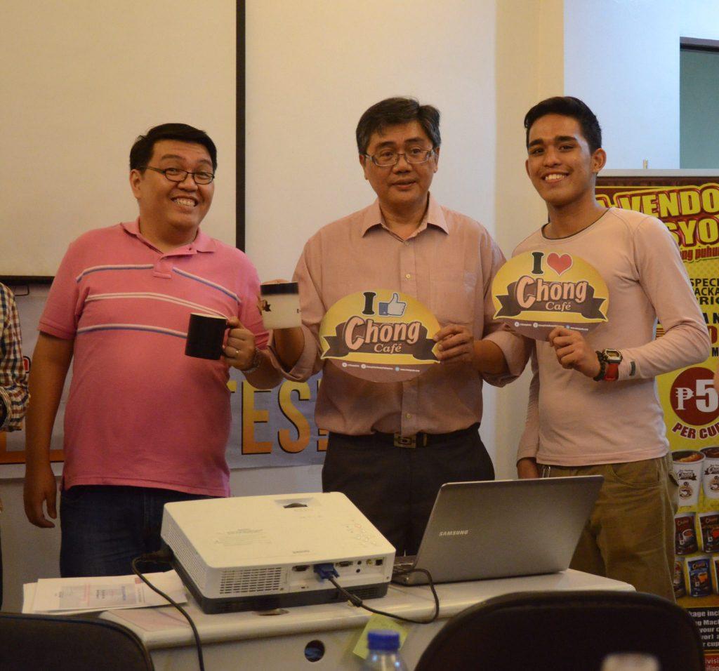 Chong Cafe Heneral Luna Press Conference Image
