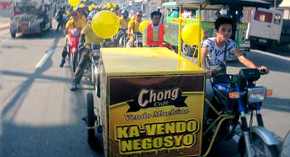 Chong Cafe Pampanga Motorcade Featured Image