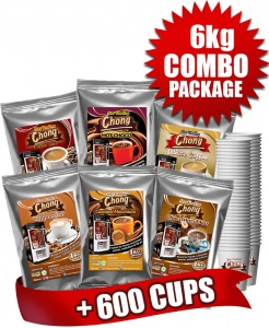 6 Kilo Bundle + 600 Cups Bundle