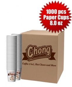 1 Box of 1000 cups (8.0 oz)