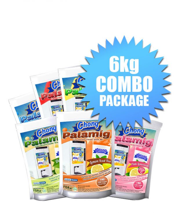 Chong Cafe Product 6kg Powder Cold Combo Package