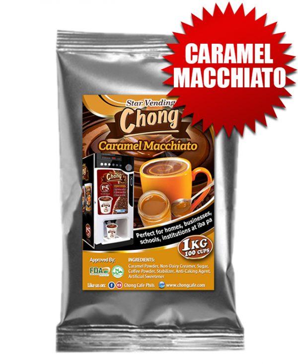 Chong Cafe Product Caramel Macchiato Tetra Pak