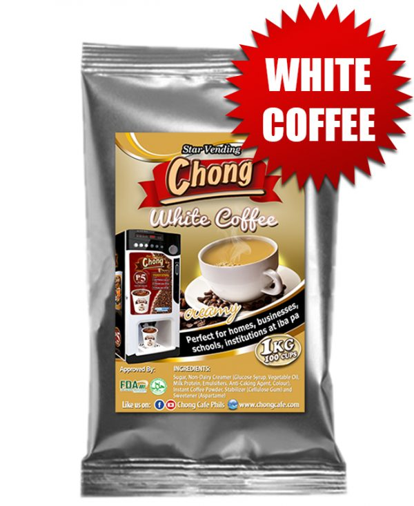 Chong Cafe Product White Coffee Official Package